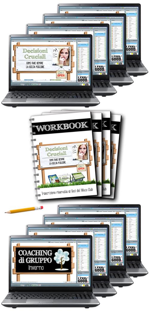 Dirette online di Crescita Personale e Workbook