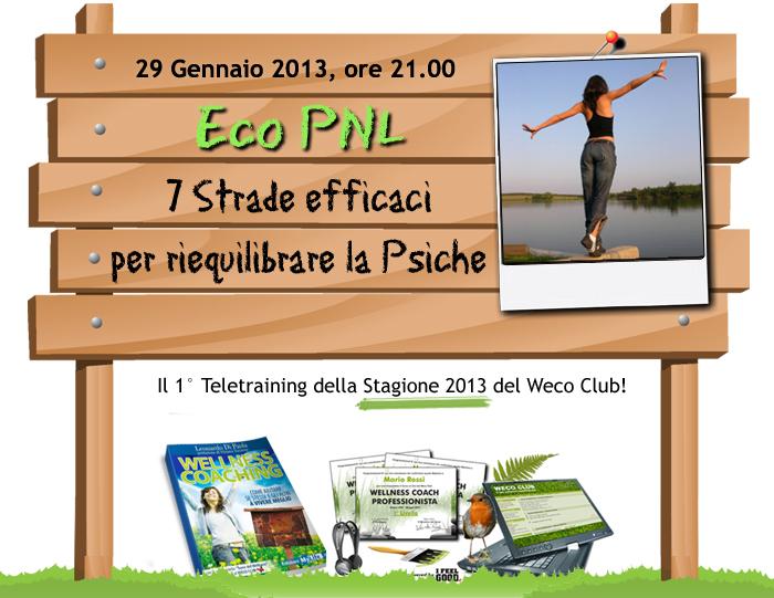 Crescita personale: Eco PNL, Ecologia e Programmazione Neurolinguistica
